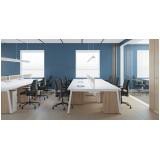 móveis planejados para escritório corporativo orçamento Engenheiro Leal