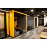 móveis planejados para coworking