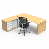onde comprar mesa de escritório moderna Franca