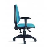 onde encontrar cadeira com rodizio para escritorio Duque de Caxias