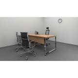 onde encontrar mesa de escritório diretoria em l Vila Mazzei