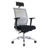 onde vende cadeira de escritório presidente em tecido Quintino Bocaiuva