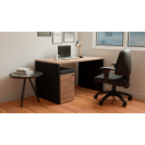 quanto custa mesa com cadeira home office ABC
