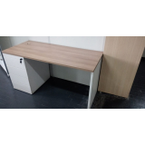 quanto custa mesa home office branca Panamby