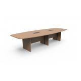 quanto custa mesa para sala de reunião oval Itaim Paulista