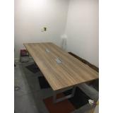 quanto custa mesas para sala de reunião Gericinó