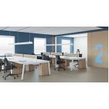 valores de móveis para escritório plataforma de trabalho Vista Alegre