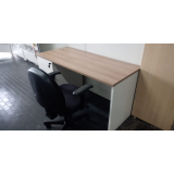 venda de mesa home office branca Alphaville