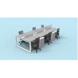 venda de mesa plataforma para escritórios Pedreira